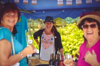 Ochutnávky českých a moravských vinařů během Svátku vína na soutoku