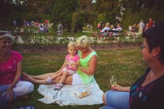 Růžová zahrada v Jiráskových sadech - Svátek vína na soutoku